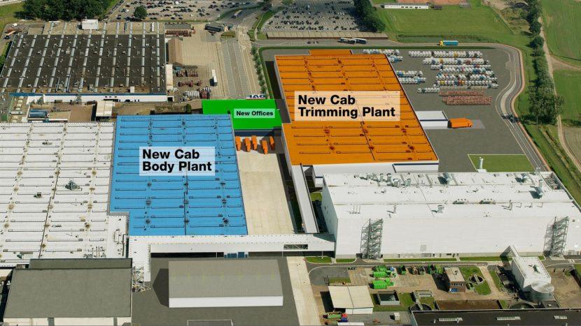Investitii la fabrica de cabine DAF din Westerlo