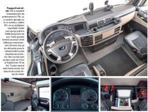 MAN TGX 500 interior