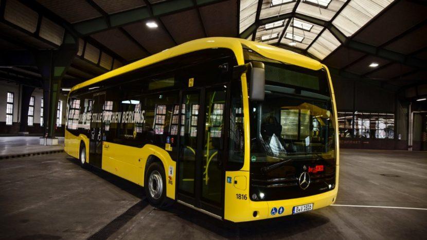 Mercedes-Benz eCitaro BVG Berlin exterior
