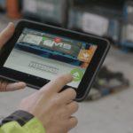 Renault Trucks drone pentru inventarul stocurilor tableta