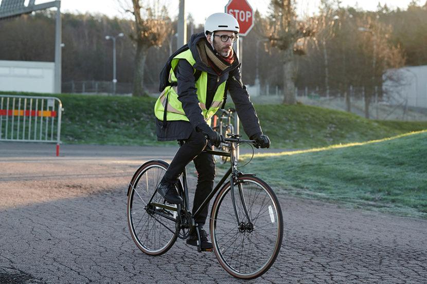 cască inteligentă pentru bicicliști Scania