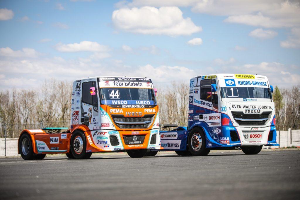 Camioane IVECO de curse în FIA ETRC 2019