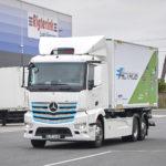 Încă un camion electric eActros livrat