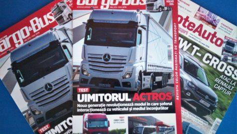 A apărut Cargo&Bus nr. 272, ediția mai 2019