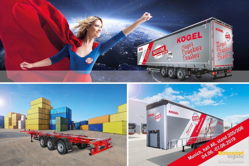 Kogel transport logistic 2019 noua generatie de semiremorci NOVUM