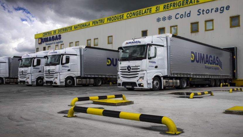 Mercedes-Benz Actros pentru Dumagas