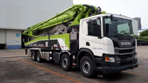 520 de camioane Scania pentru Zoomlion