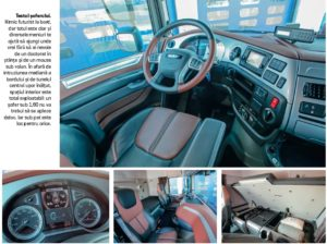 Test DAF XF 480 interior