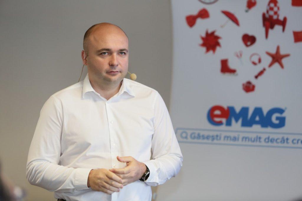 Tudor Manea vicepresedinte grupul eMAG