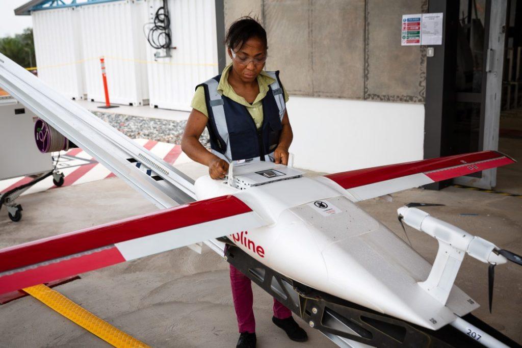 UPS drone medicale Ghana (2)