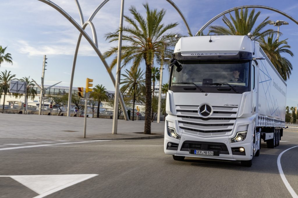 test noul Actros