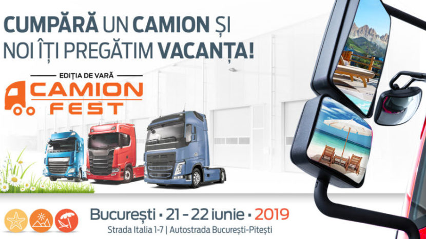 Camion Fest ediția de vară 2019