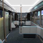 Conceptul Scania NXT bus interior