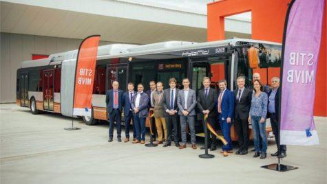 Iveco a livrat primele autobuze Urbanway hybrid electric