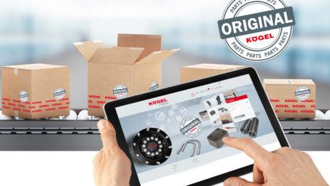 Kögel Parts Shop, extins și modernizat