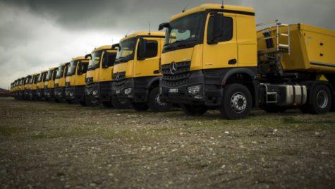 RoadStars România, experiențe la volanul camioanelor Mercedes
