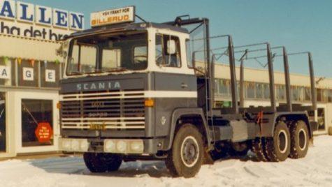 Acesta este primul camion Scania V8