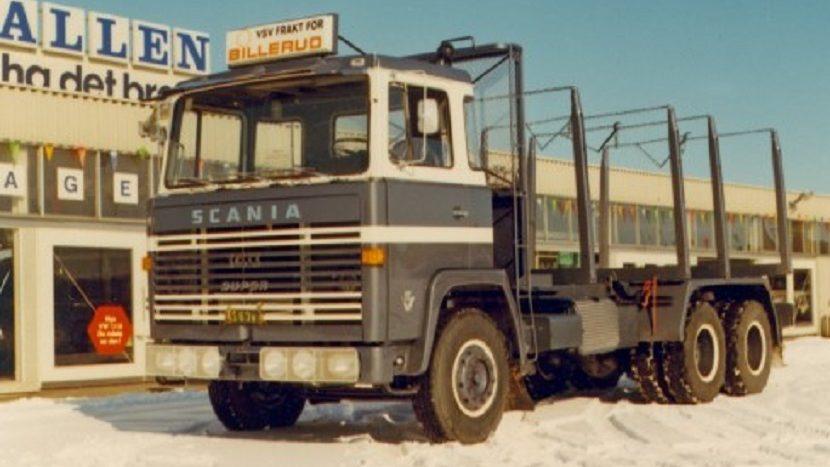 Primul camion Scania V8
