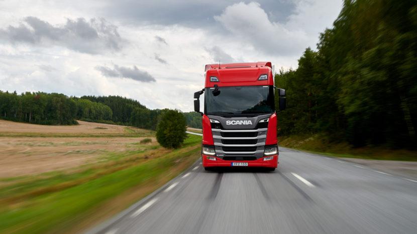 Scania R 450 4x2 Highline Green Trucks 2019