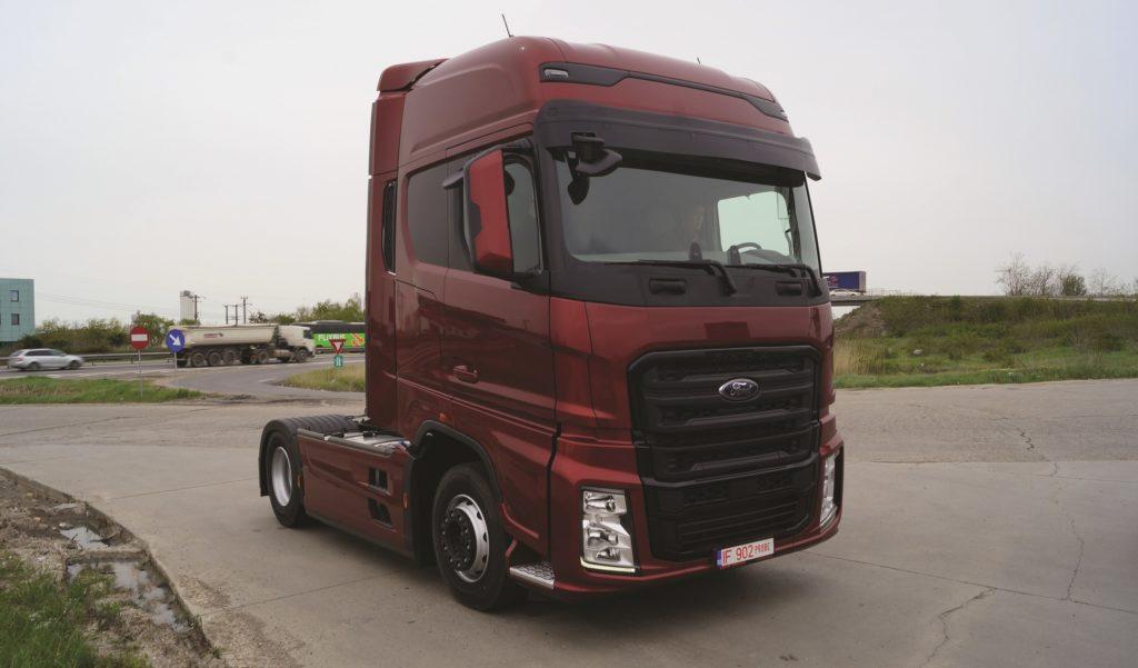 Test Ford Trucks F-MAX