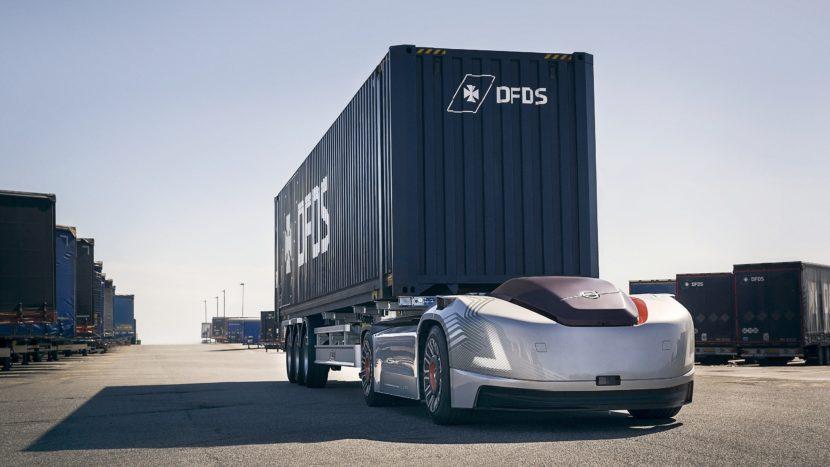 Vera Volvo Trucks autotractor electric si autonom