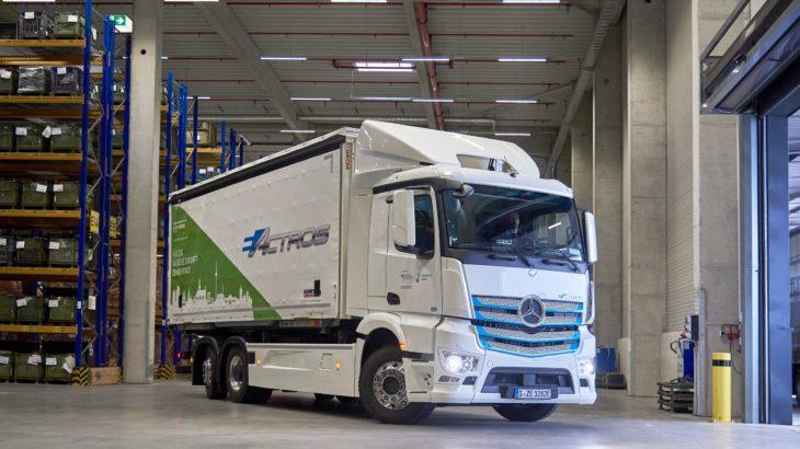 Livrări fără emisii la fabrica Mercedes-Benz din Mannheim