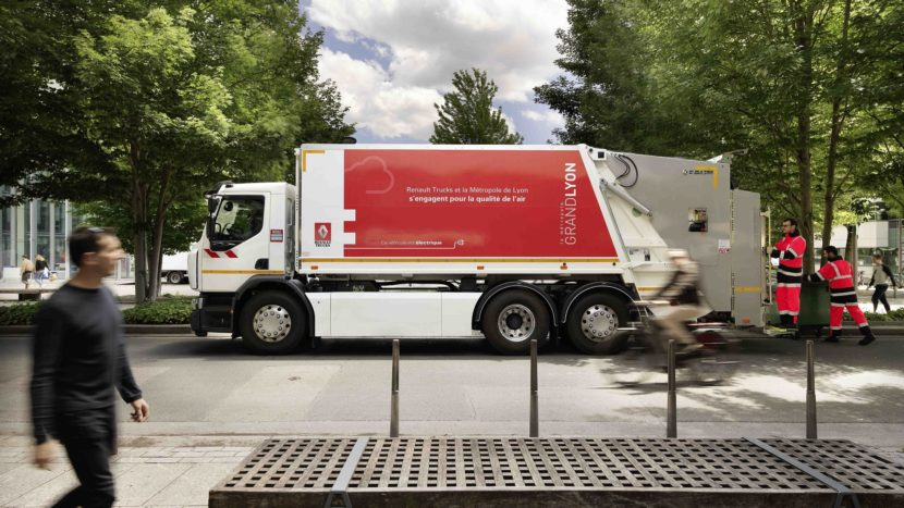 Renault Trucks primul camion electric D Wide Z.E.