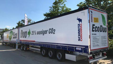 Premiu pentru conceptul EcoDuo de la Schmitz Cargobull