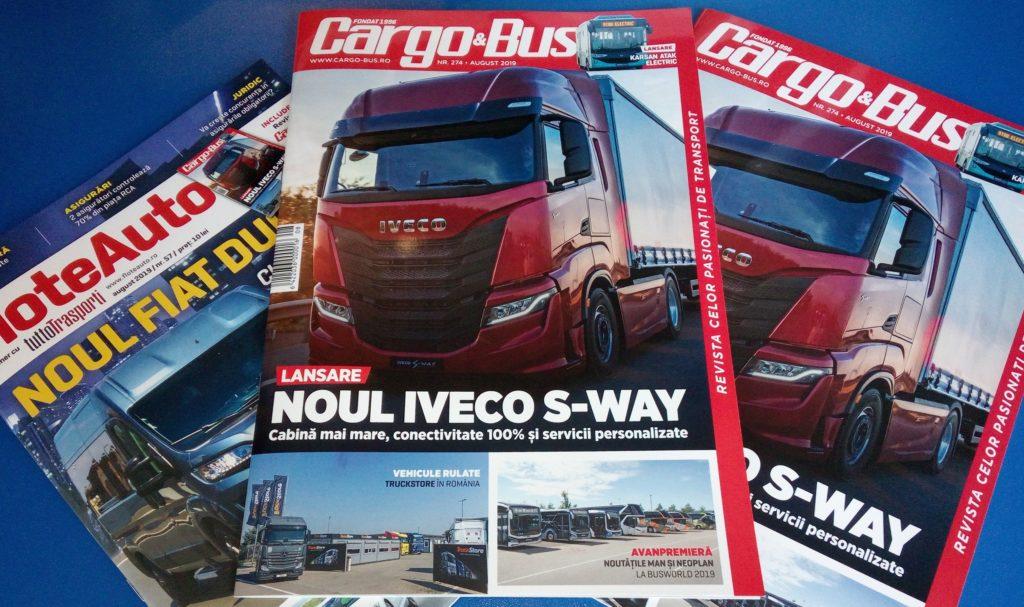 Cargo&Bus Flote Auto iulie august 2019