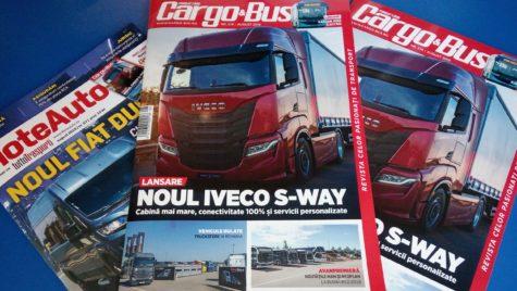 A apărut Cargo&Bus nr. 274, ediția iulie-august 2019