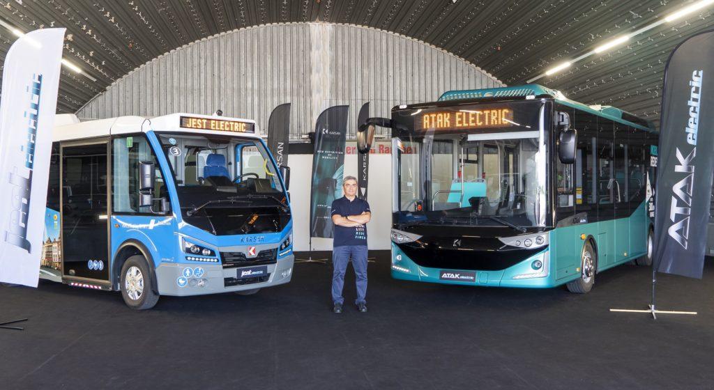 Karsan_CEO_Okan_Bas lansare noul Atak Electric