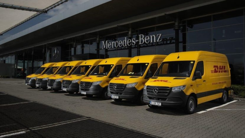 Mercedes-Benz Sprinter - DHL Express România
