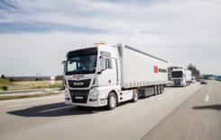 Studiu MAN: camioanele pot merge în plutoane 40% din distanțe