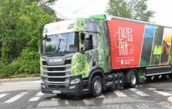 Camion Scania CNG pentru Coca-Cola România