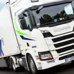 Cea mai lungă rută pentru un camion Scania LNG