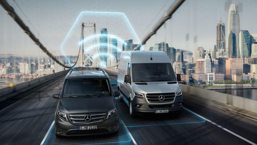Noi servicii digitale de la Mercedes PRO connect