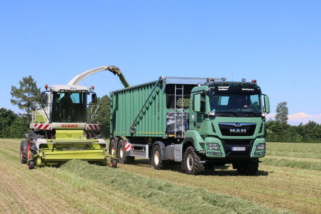 Camion agricol MAN la Agritechnica 2019