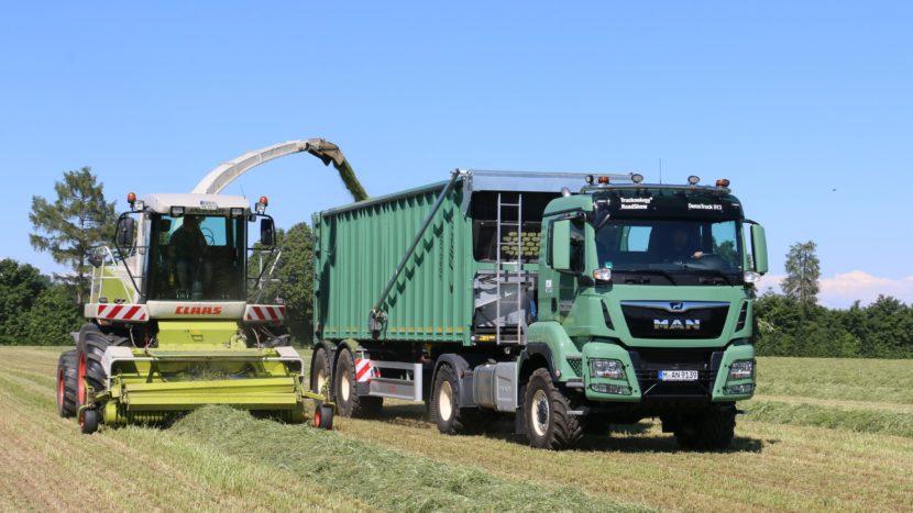 Camion agricol MAN la Agritechnica 2019