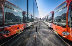 Livrare majoră de autobuze Citaro NGT hybrid