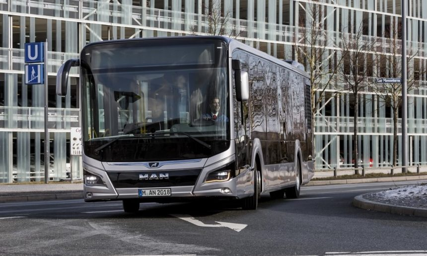 Livrare majoră de autobuze MAN în Barcelona