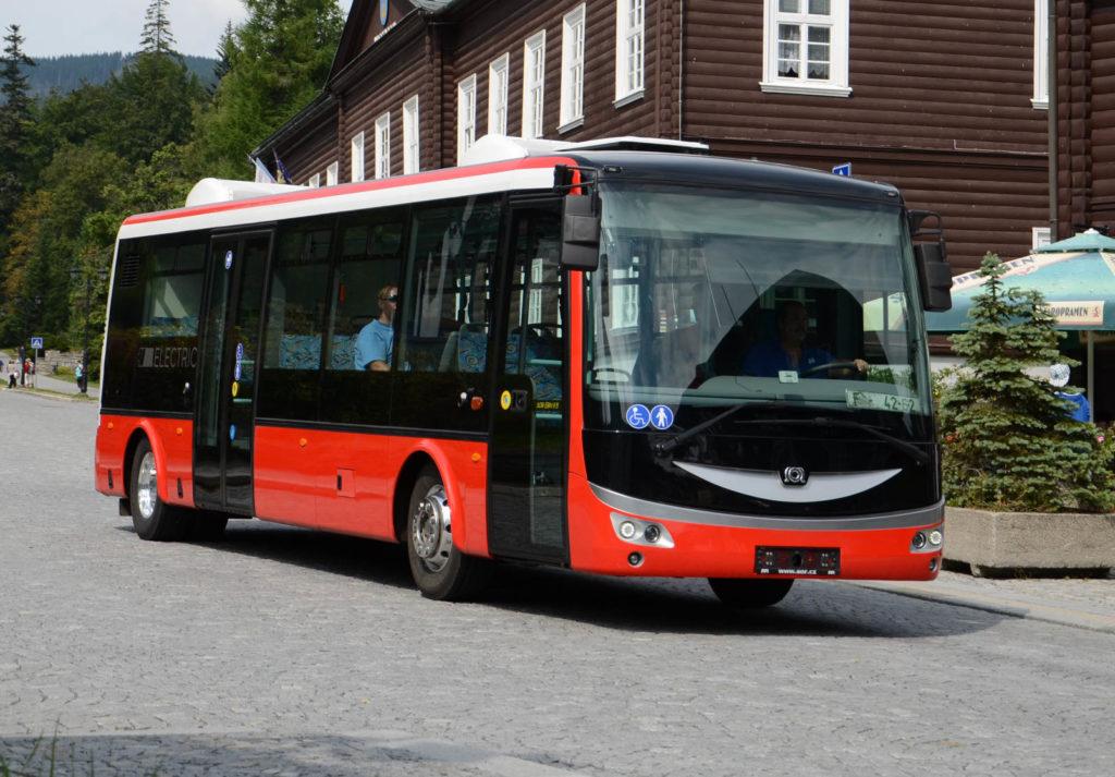 Primul lot de autobuze electrice SOR a ajuns la Turda