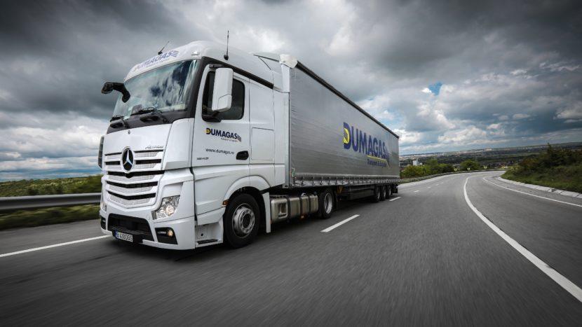 Vânzări camioane grele în România în primele 6 luni Mercedes-Benz Dumagas