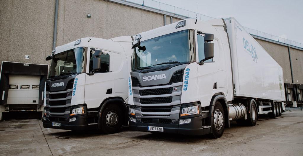 Dependența oferită de camioanele alimentate cu LNG