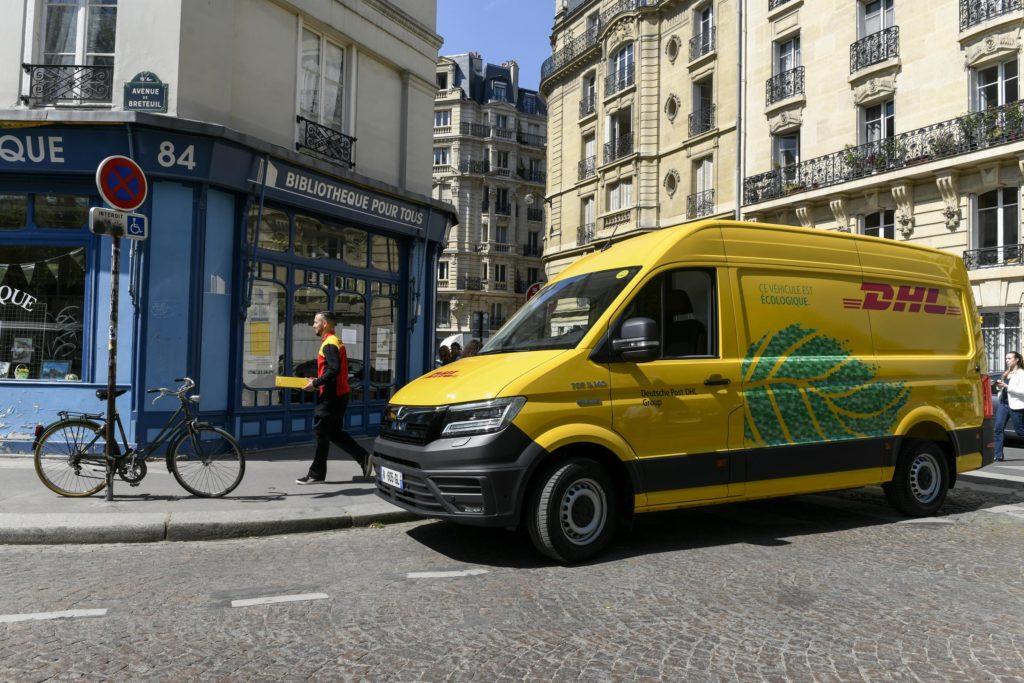 MAN eTGE DHL Paris