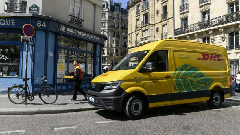 MAN eTGE DHL Paris