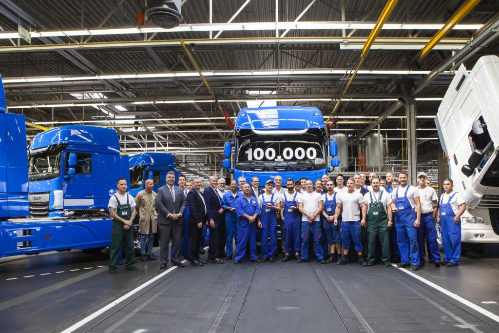 100.000 de camioane din noua generație DAF
