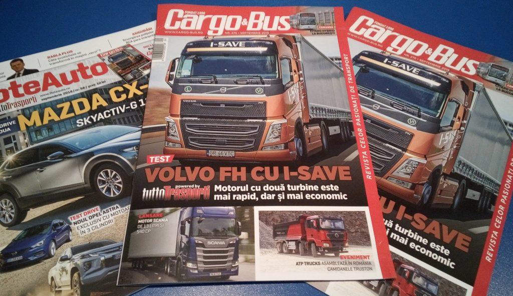 Cargo&Bus FloteAuto septembrie 2019