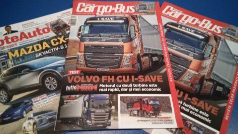 A apărut Cargo&Bus nr. 275, ediția septembrie 2019
