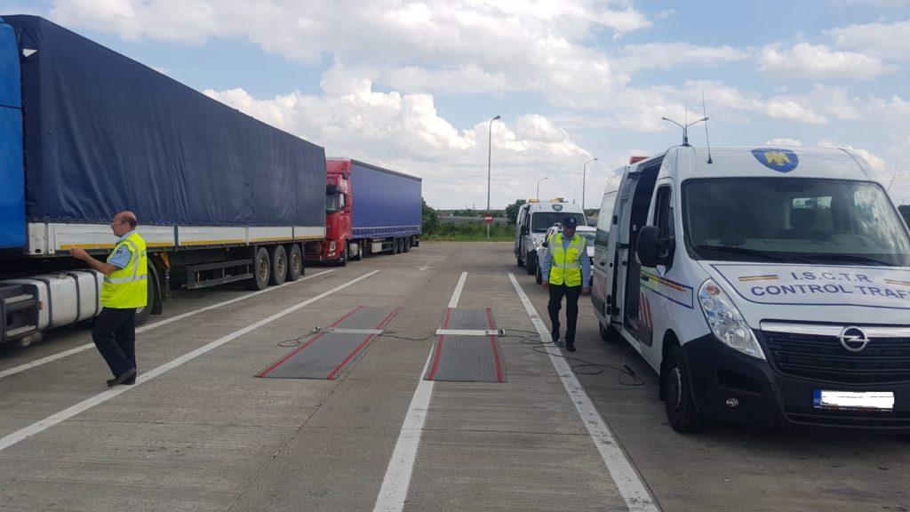 ISCTR a controlat aproape 50.000 de vehicule în primele 6 luni