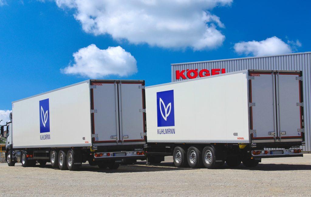 Kögel Cool pentru transport de delicatese